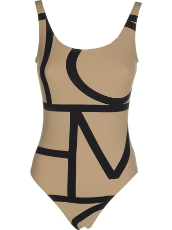 Totême Positano Printed Swimsuit