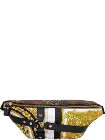 Versace Printed Techno Fabric Belt Bag