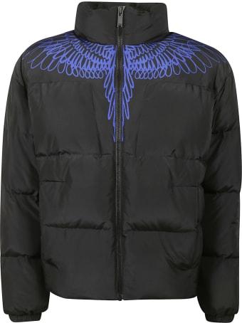 Marcelo Burlon Pictorial Wings Cut Down Jacket