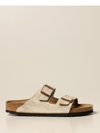 Birkenstock Shoes Arizona Birkenstock Slipper Sandal In Suede