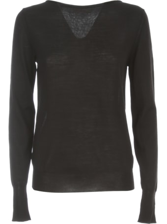 Nuur Boat Neck 100% Merino Wool Sweater