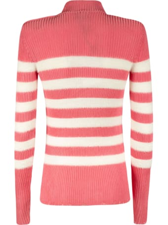 Balmain Stripe Knit Sweater