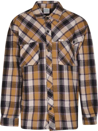 Guess Plaid Flannel Storm Shirt