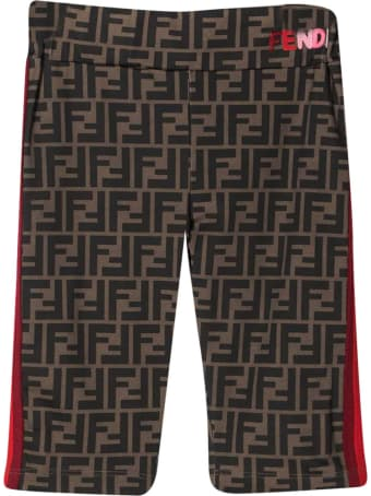 Fendi Zucca Teen Shorts