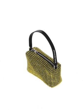 T by Alexander Wang Heiress Rhinestone Pouch