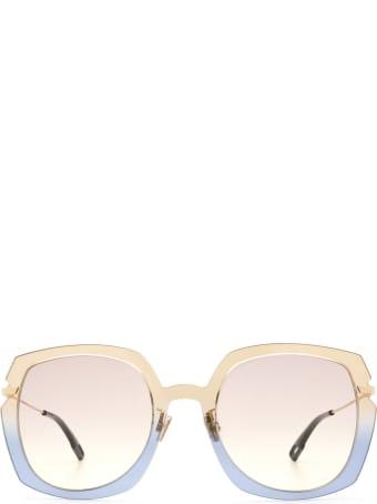 Dior Dior Diorattitude1 Brown Gradient Blue Sunglasses