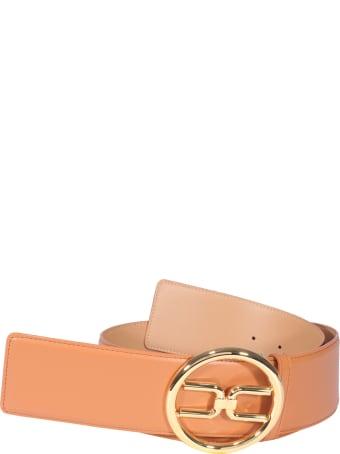 Elisabetta Franchi Celyn B. Logo Buckle Belt
