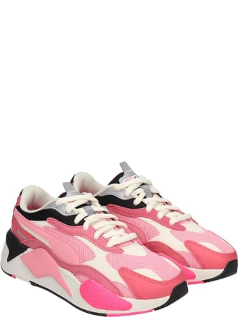 Puma Rs-x Sneakers In Rose-pink Tech/synthetic
