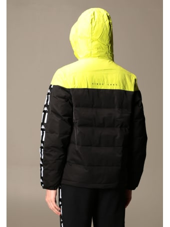 Kappa Jacket Authentic Usa Down Jacket In Padded Nylon