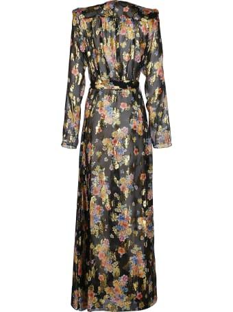 The Attico Multicolor Silk Lauren Dress