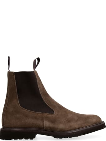 Tricker's Stephen Suede Chelsea Boots