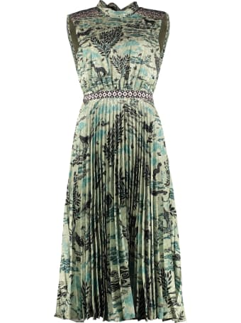 Saloni Fleur-e Long Dress