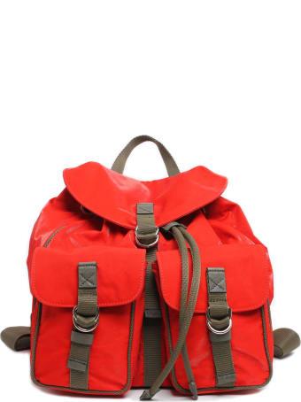 Mr & Mrs Italy Cotton Velvet Tech Travel Backpack
