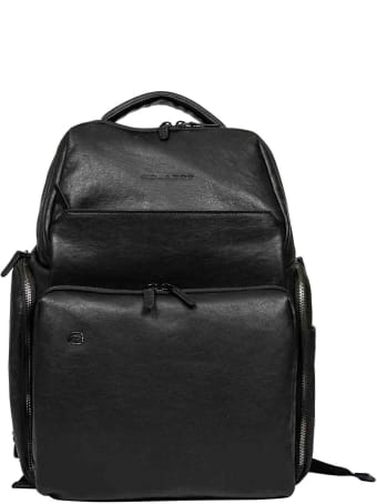 Piquadro Laptop/ipad® Rucksack With Rfid