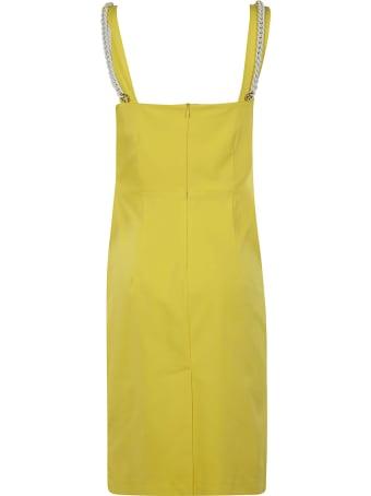 Be Blumarine Strap Knot Detail Dress