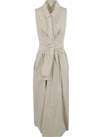Aspesi Belt Wrap Sleeveless Long Dress