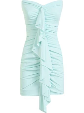 Amen Lycra With Ruffle Dress