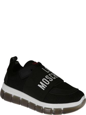 Love Moschino Logo Sock Sneakers