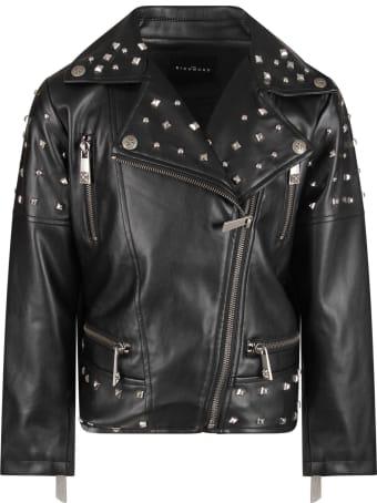 Richmond Black Girl Jacket With Studs