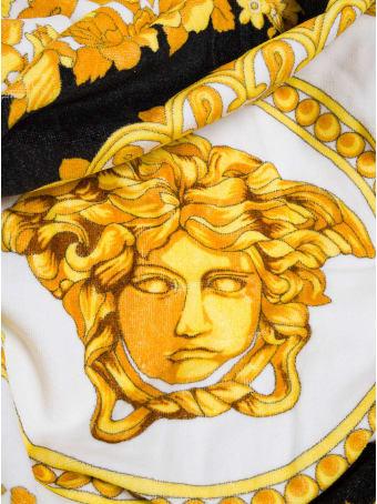 Versace Baroque Cotton Beach Towel