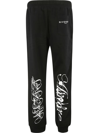 Givenchy Leg Graffiti Detail Track Pants