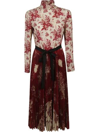 RED Valentino Flower Print Dress