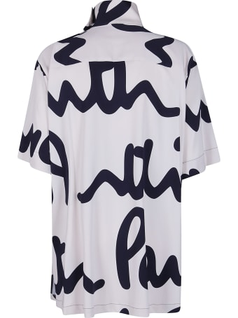 Paul Smith White Viscose-blend T-shirt
