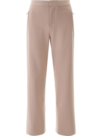 AREA Palazzo Pants With Crystals
