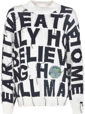 Stella McCartney Frayed Oversized Sweatshirt