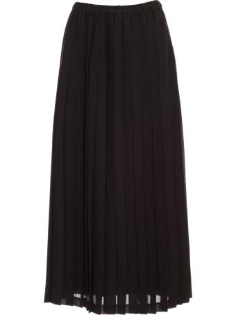 Junya Watanabe Comme Des Garçons Skirt Georgette W/stripes