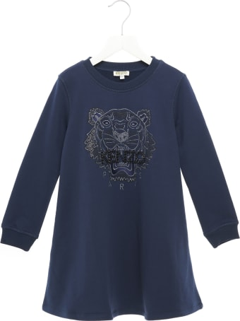 Kenzo Kids 'tiger Jg' Dress