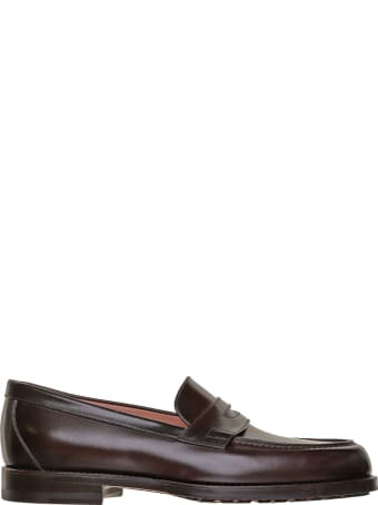 Santoni Santoni 1^ Linea Leather Loafer