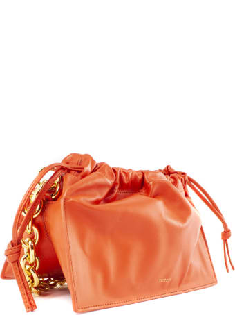 YUZEFI Bom Orange Nappa Leather Bag
