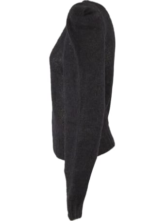 Philosophy di Lorenzo Serafini Black Mohair Blend Sweater