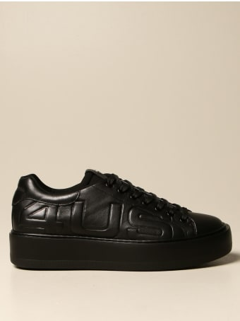 Paciotti 4US Sneakers Paciotti 4us Sneakers In Leather With Embossed Logo