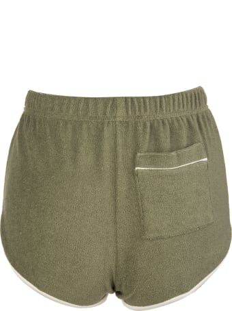 For Restless Sleepers Green Pasitea Shorts
