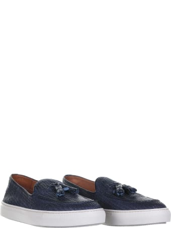Fratelli Rossetti One Braided Leather Loafer