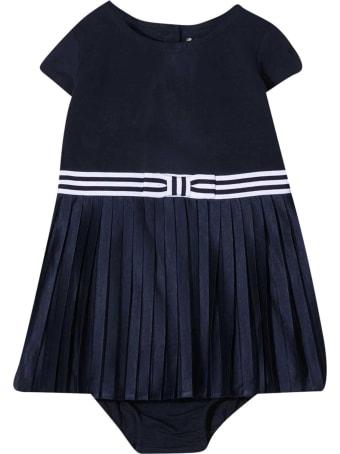 Ralph Lauren Blue Flared Dress