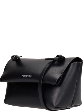 Acne Studios Alexandria Larg Hand Bag In Black Leather