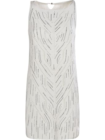 Ermanno Scervino Embellished Sleeveless Dress