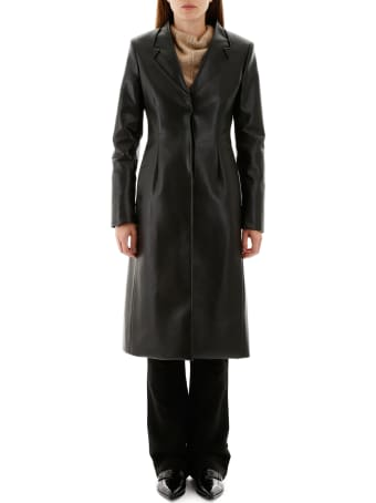 Coperni Leather Coat