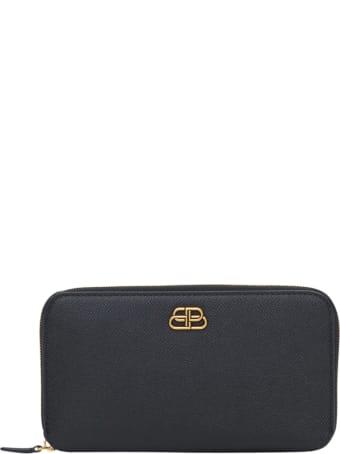 Balenciaga Bb Continenatl Zip Around Wallet