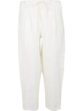 A Punto B Cropped Length Drawstring Trousers