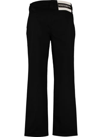 Calvin Klein Jeans Embroidered Straight-leg Trousers