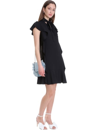 RED Valentino Dress In Black Viscose