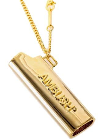 AMBUSH Accessory Logo Lighter Case Necklace