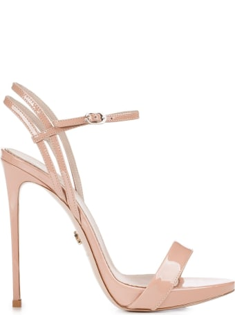 Le Silla Nude Patent Gwen 120 Sandals