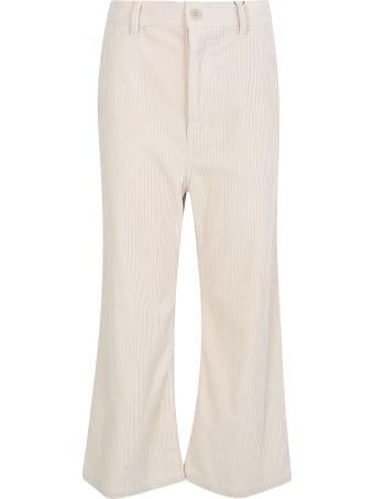 Zucca Flared Cropped Trousers