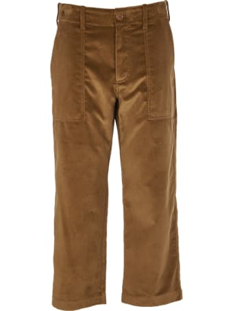 Jejia Brown Velvet Trousers