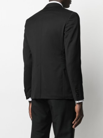 Tonello Single Breasted Black Wool Jacket